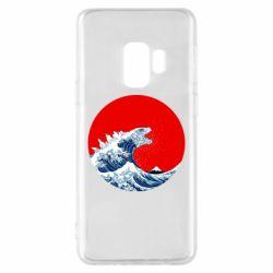 Чохол для Samsung S9 Godzilla Wave