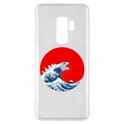 Чохол для Samsung S9+ Godzilla Wave