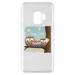 Чехол для Samsung S9 Happy family