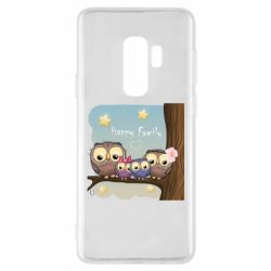 Чехол для Samsung S9+ Happy family