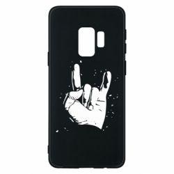 Чехол для Samsung S9 HEAVY METAL ROCK