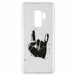 Чехол для Samsung S9+ HEAVY METAL ROCK