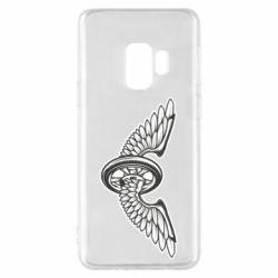 Чохол для Samsung S9 Колесо та крила