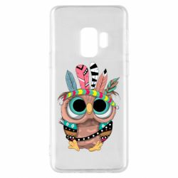 Чохол для Samsung S9 Little owl with feathers