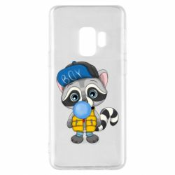 Чехол для Samsung S9 Little raccoon
