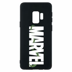 Чехол для Samsung S9 Marvel logo and vine