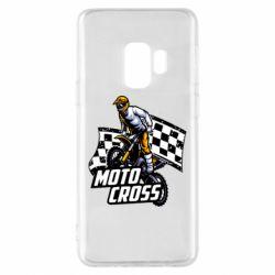 Чехол для Samsung S9 Motocross