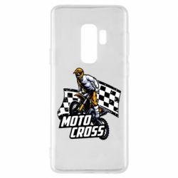Чехол для Samsung S9+ Motocross