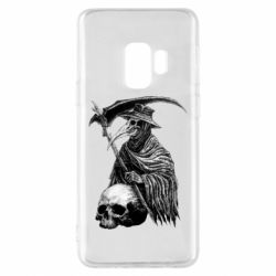 Чехол для Samsung S9 Plague Doctor graphic arts