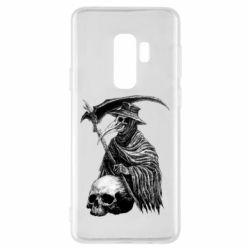 Чехол для Samsung S9+ Plague Doctor graphic arts