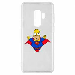 Чехол для Samsung S9+ Simpson superman