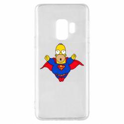 Чехол для Samsung S9 Simpson superman