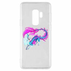 Чохол для Samsung S9+ Sisu Water Dragon
