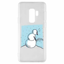 Чохол для Samsung S9+ Snowman. It's Cold!