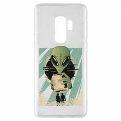 Чохол для Samsung S9+ Alien with a can