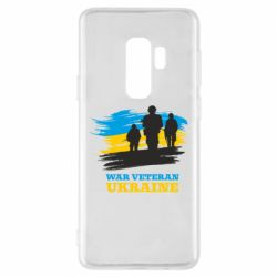 Чохол для Samsung S9+ War veteran оf Ukraine