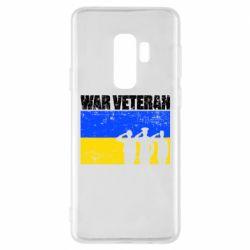 Чохол для Samsung S9+ War veteran