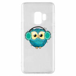Чехол для Samsung S9 Winter owl