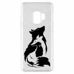 Чехол для Samsung S9 Wolf And Fox
