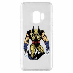 Чохол для Samsung S9 Wolverine comics