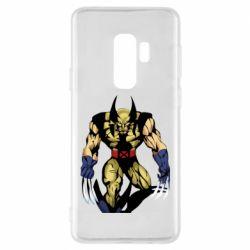 Чохол для Samsung S9+ Wolverine comics