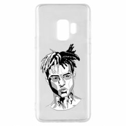Чехол для Samsung S9 XXXTentacion Monochrome Art