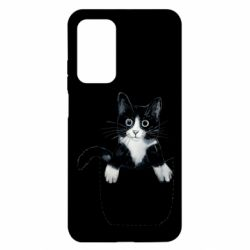 Чехол для Xiaomi Mi 10T/10T Pro Art cat in your pocket