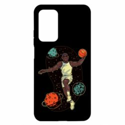 Чехол для Xiaomi Mi 10T/10T Pro Basketball player and space