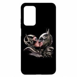 Чехол для Xiaomi Mi 10T/10T Pro Batman and Catwoman Kiss