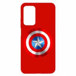 Чехол для Xiaomi Mi 10T/10T Pro Captain America 3D Shield