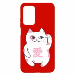 Чехол для Xiaomi Mi 10T/10T Pro Cat and hieroglyphs
