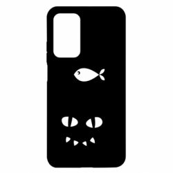 Чехол для Xiaomi Mi 10T/10T Pro Cat dreams of a fish