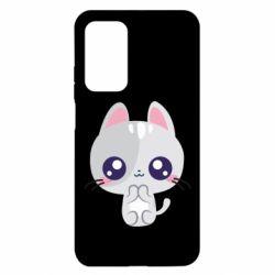 Чехол для Xiaomi Mi 10T/10T Pro Cute cat with big eyes