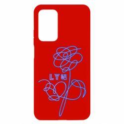 Чохол для Xiaomi Mi 10T/10T Pro Flowers line bts