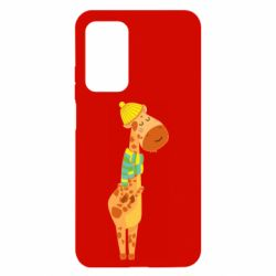 Чехол для Xiaomi Mi 10T/10T Pro Giraffe in a scarf