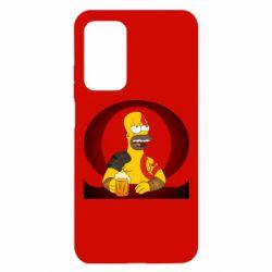 Чехол для Xiaomi Mi 10T/10T Pro God of war: Simpson