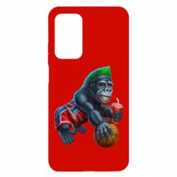 Чехол для Xiaomi Mi 10T/10T Pro Gorilla and basketball ball