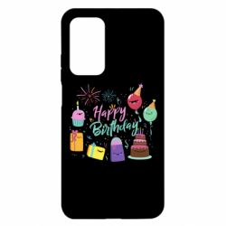 Чохол для Xiaomi Mi 10T/10T Pro Happy Birthday