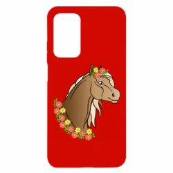 Чехол для Xiaomi Mi 10T/10T Pro Horse and flowers art