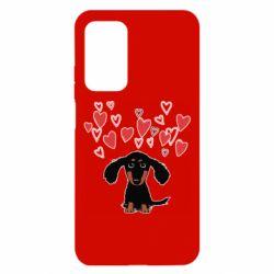 Чохол для Xiaomi Mi 10T/10T Pro I love dachshund