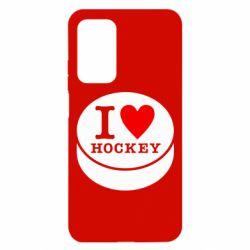Чохол для Xiaomi Mi 10T/10T Pro I love hockey