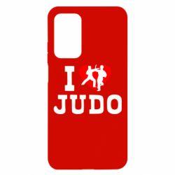 Чехол для Xiaomi Mi 10T/10T Pro I love Judo