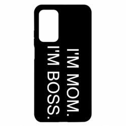 Чехол для Xiaomi Mi 10T/10T Pro I'm mom. i'm boss.