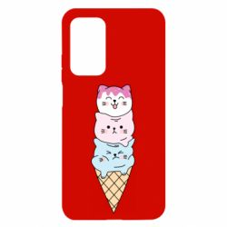 Чехол для Xiaomi Mi 10T/10T Pro Ice cream kittens