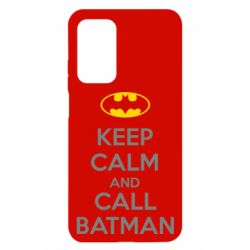 Чехол для Xiaomi Mi 10T/10T Pro KEEP CALM and CALL BATMAN