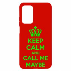 Чехол для Xiaomi Mi 10T/10T Pro KEEP CALM and CALL ME MAYBE