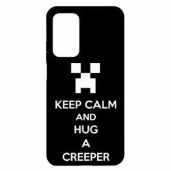 Чехол для Xiaomi Mi 10T/10T Pro KEEP CALM and HUG A CREEPER