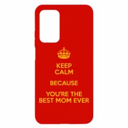Чехол для Xiaomi Mi 10T/10T Pro KEEP CALM because you're the best mom ever