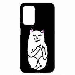 Чехол для Xiaomi Mi 10T/10T Pro Кот с факом