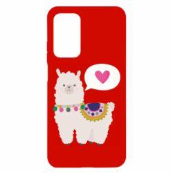 Чехол для Xiaomi Mi 10T/10T Pro Lama with pink heart